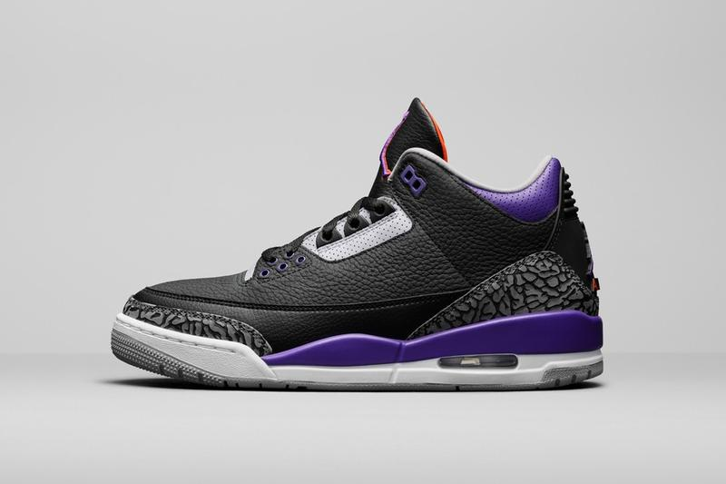 Air Jordan 3 最新配色「Court Purple」發售情報率先公開
