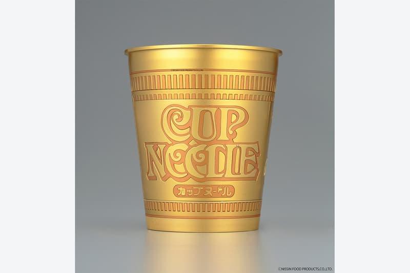 Bandai Spirits Hobby 事業部推出全新「黃金紀念版」日清組裝杯麵模型