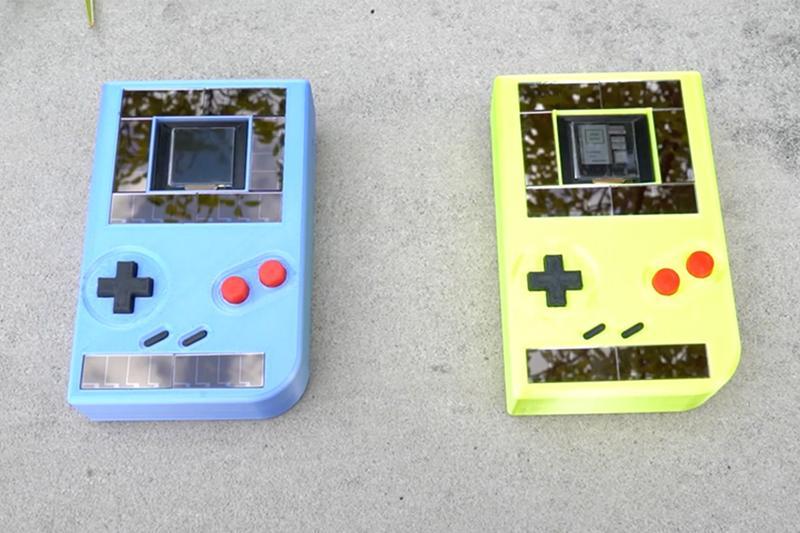 美國大學成功研發太陽能發電版本 Game Boy