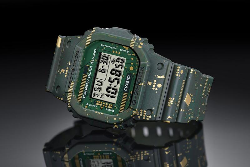 G-Shock 全新電路迷彩圖樣 DWE-5600CC 腕錶發佈