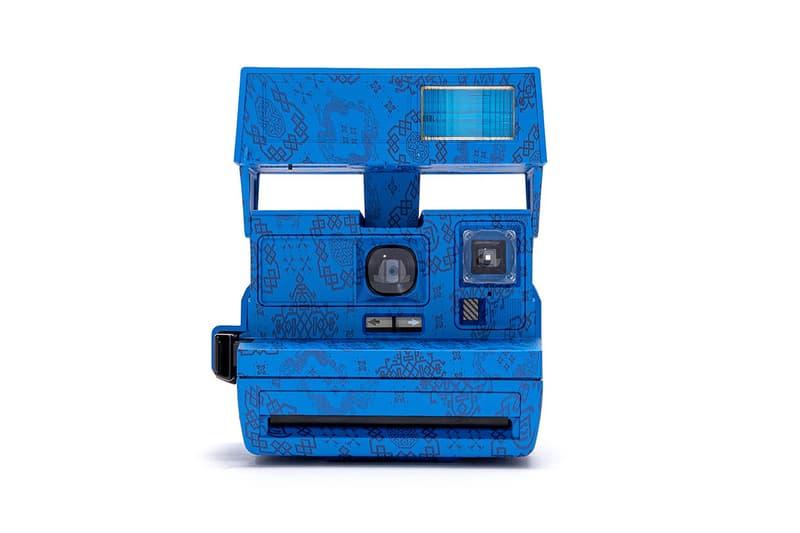 CLOT x Polaroid 600 全新聯乘「絲綢」拍立得相機發佈