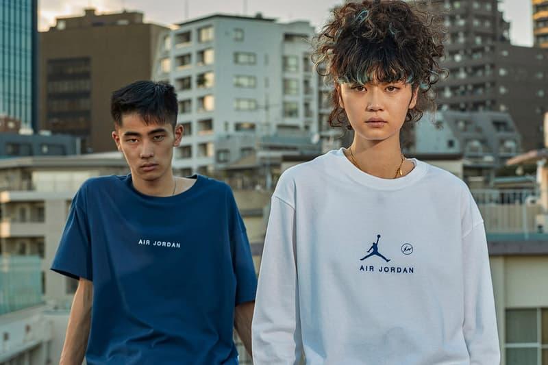 fragment design x Jordan Brand 全新聯乘系列官方圖輯、發售情報正式公開