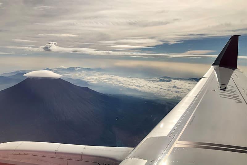 日本富士夢幻航空推出「遊覽富士山」專屬航班