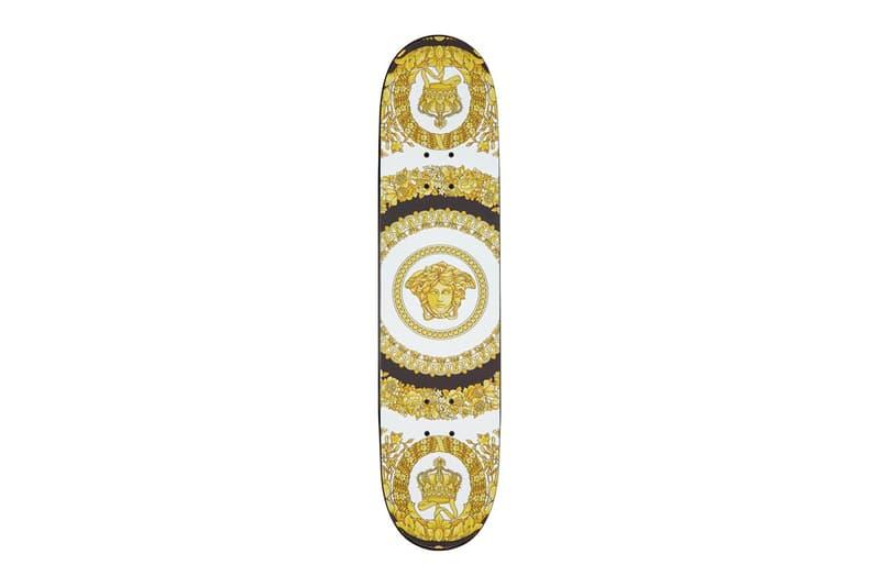 Versace 釋出極其奢華 Vintage Logo 滑板