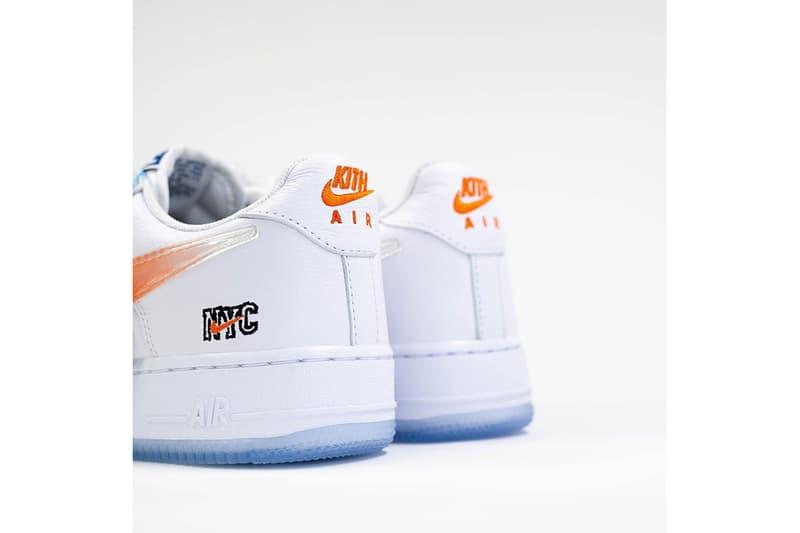 KITH x Nike Air Force 1 最新紐約主題聯乘鞋款曝光