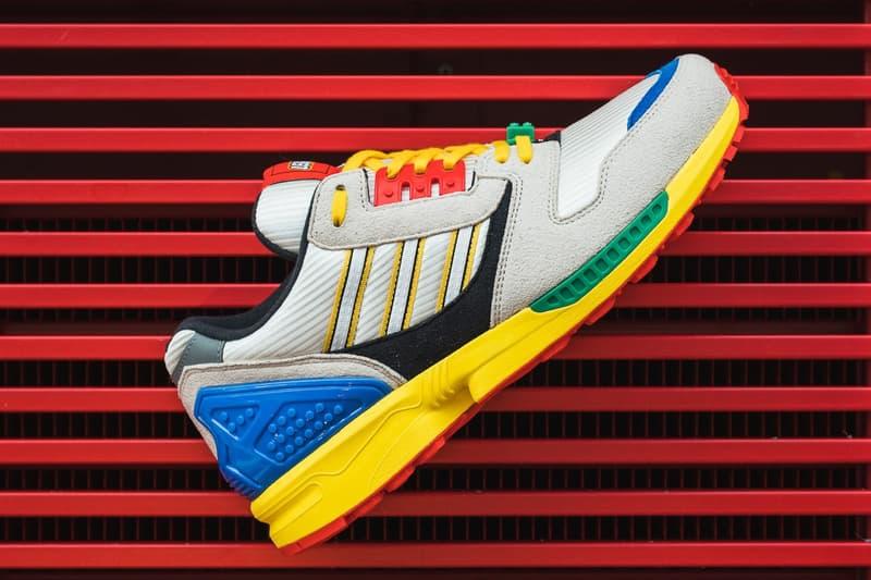 LEGO x adidas Originals ZX8000 最新聯名鞋款官方發售情報公開