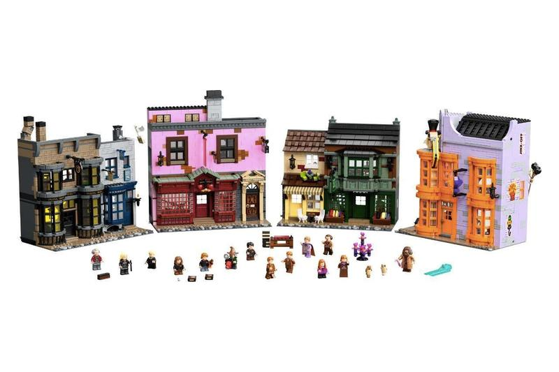 LEGO® Harry Potter™ 75978 Diagon Alley™ 正式開售