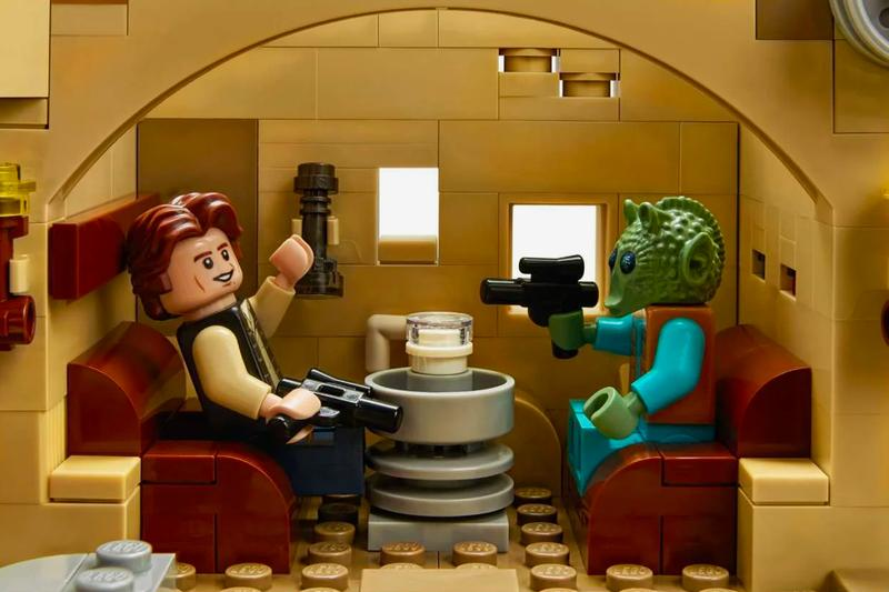 LEGO 實體化《Star Wars》經典場景 Mos Eisley Cantina 酒吧