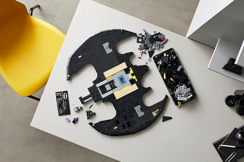 LEGO 打造 1989 年 Tim Burton 版本《Batman》蝙蝠俠戰機正式登場