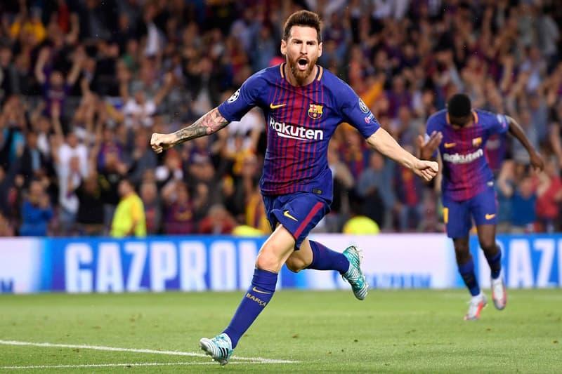 Lionel Messi 正式確立續留 F.C. Barcelona