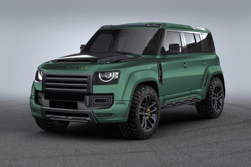 LUMMA Design 打造全新 Land Rover Defender「寬體」改裝版本