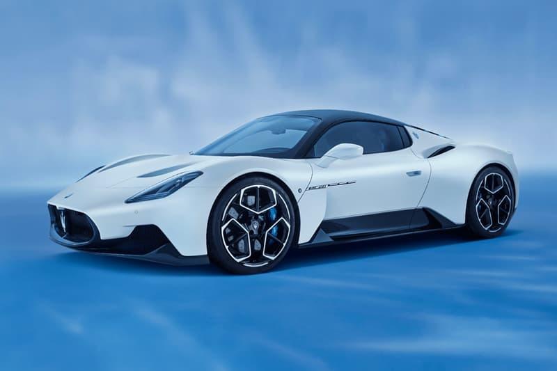 Maserati 正式發表全新超跑車型 MC20