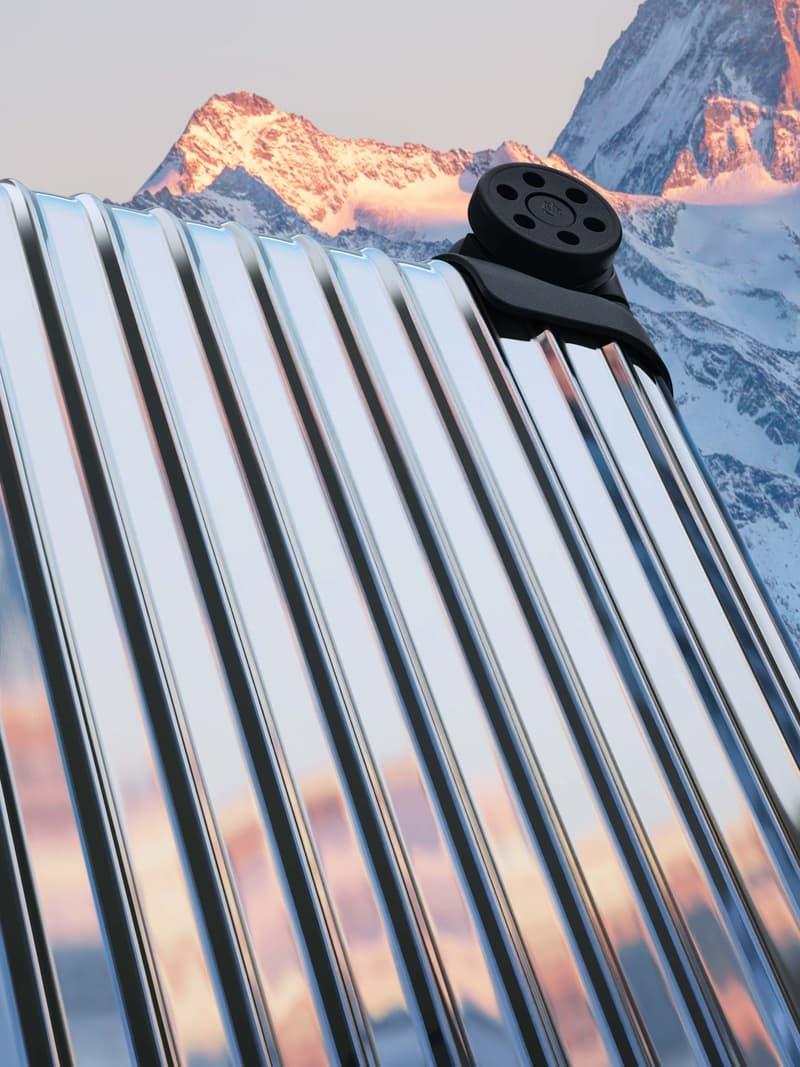 Moncler x RIMOWA 全新「REFLECTION」主题联名行李箱登场