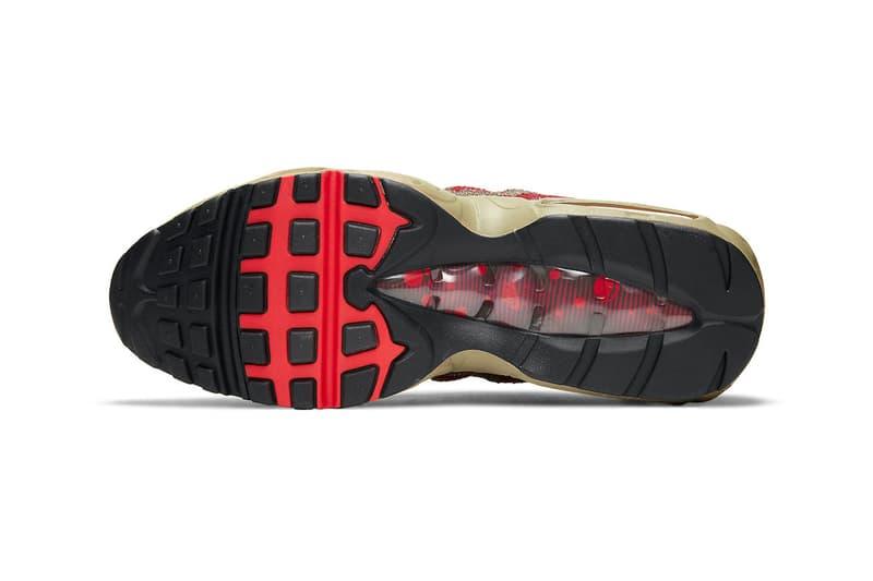 Nike Air Max 95 推出知名驚悚電影《半夜鬼上床》殺人魔「Freddy Krueger」配色
