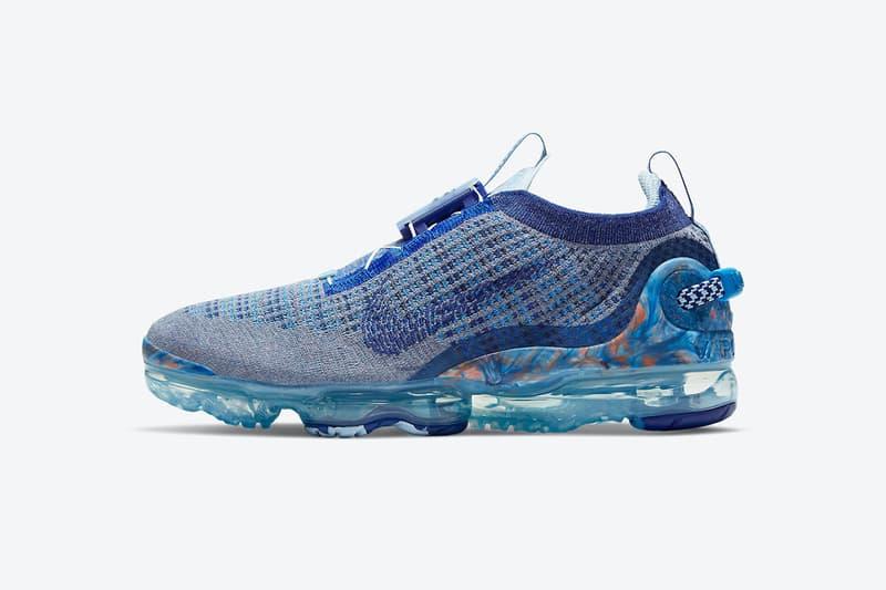 Nike Air VaporMax 2020 最新配色「Stone Blue」發佈