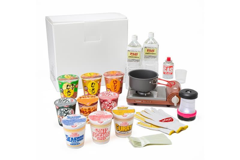 防患未然 - 日清食品 Nissin 推出「緊急救難」杯麵烹飪組合