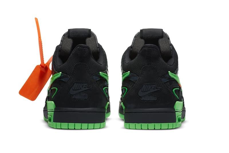 Off-White™ x Nike Air Rubber Dunk 最新聯名「Green Strike」發售情報正式公開