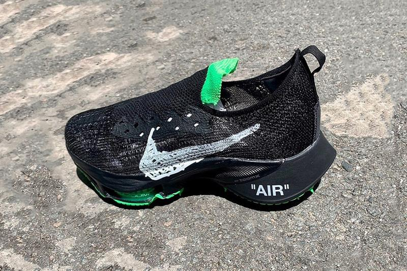 Off-White™ x Nike Air Zoom Tempo Next% FK 聯乘鞋款發售情報曝光