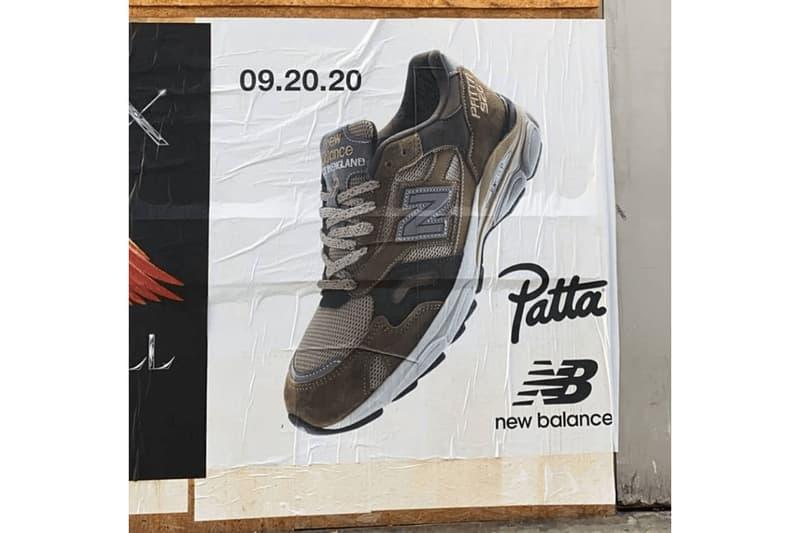 Patta x New Balance 920 全新聯乘鞋款發售日期正式公開