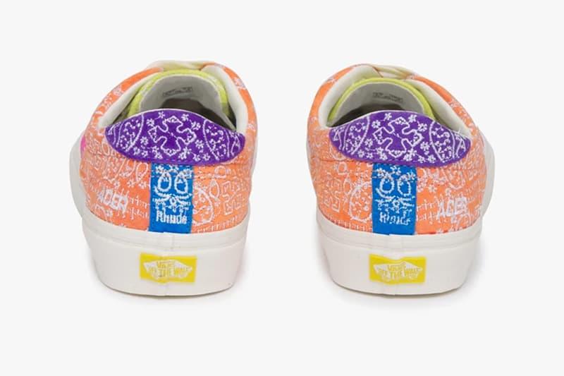 RHUDE x Vans 全新聯乘系列鞋款正式發佈