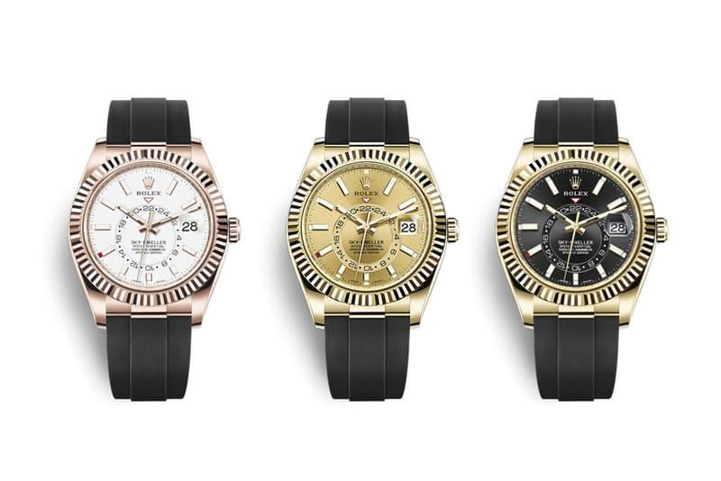 Rolex 全新 2020 年 Sky-Dwellers、Oyster Perpetuals 錶款發佈