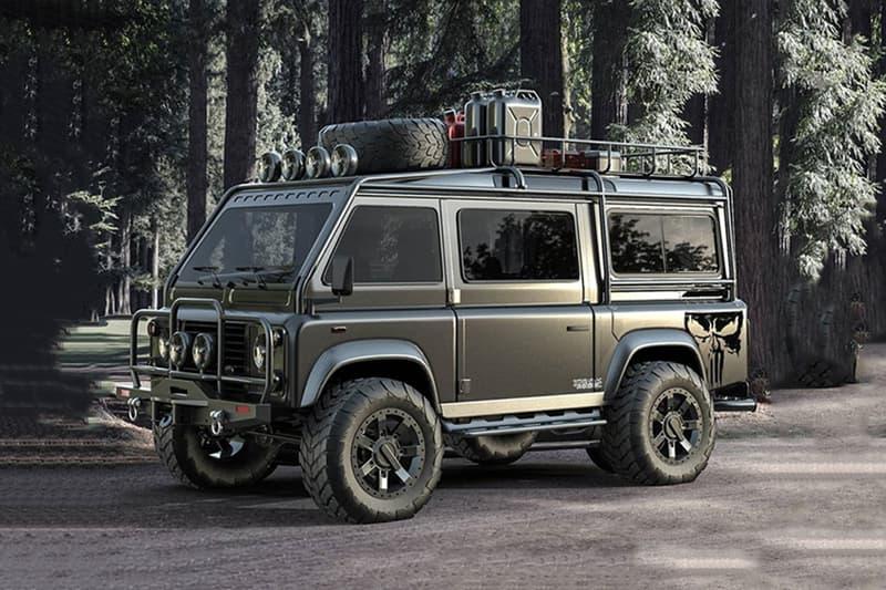 Samirs Customs 打造 Land Rover Defender「廂型車」改裝版本