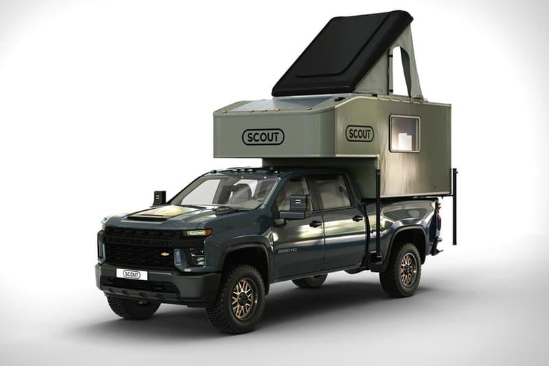 Scout 推出全新輕量化乘載式多人露營車廂「Kenai」