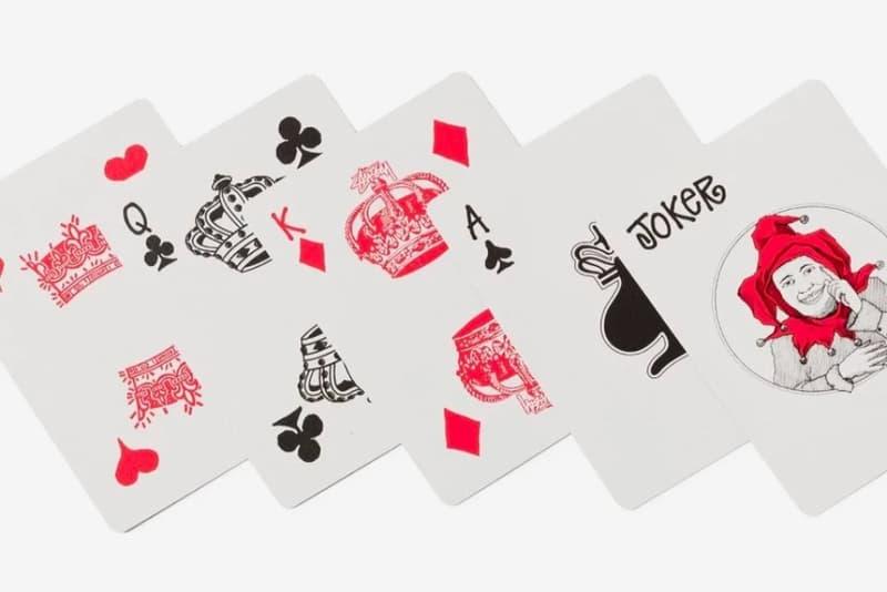 Stüssy x Bicycle Playing Cards 聯乘撲克牌發佈