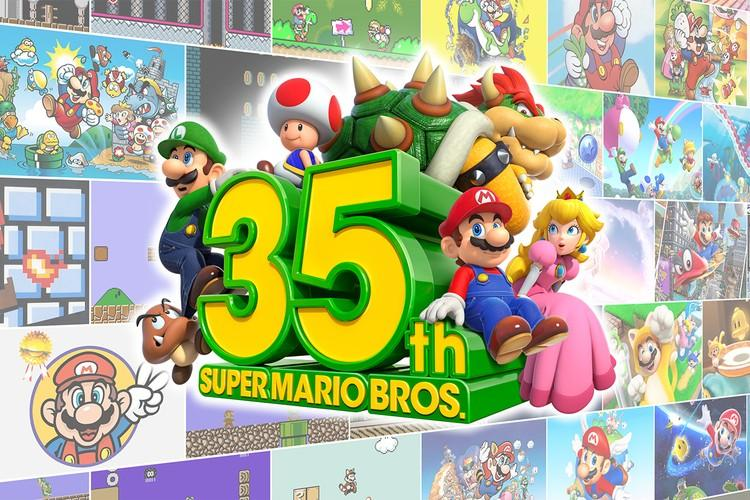 Nintendo《Super Mario Bros.》35 周年慶系列企劃正式發佈