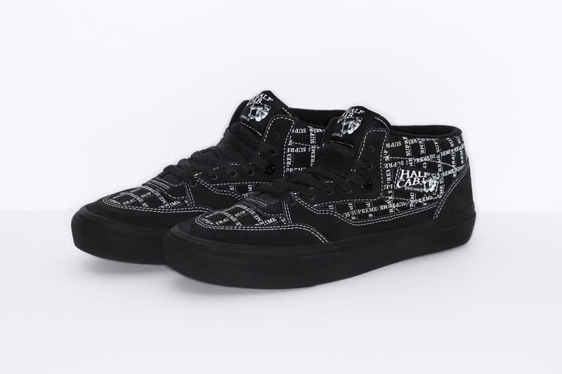 Supreme x Vans 2020 秋季全新聯乘系列鞋款發佈