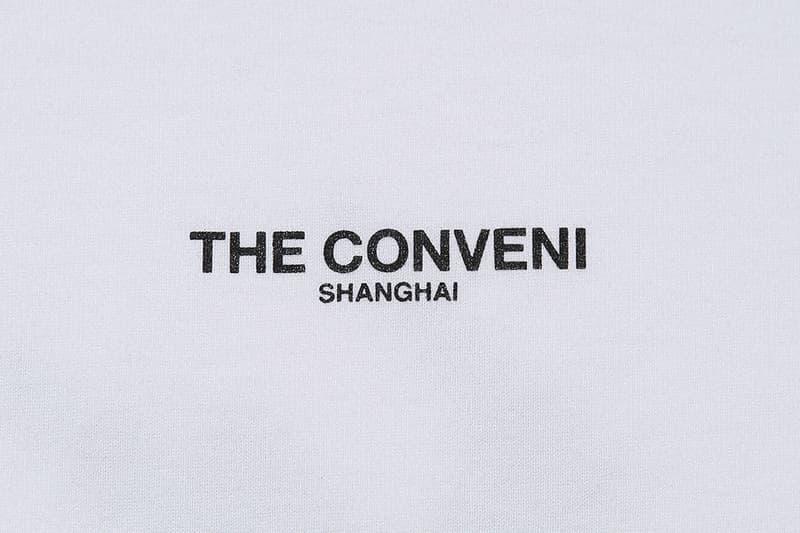 THE CONVENI 上海限定单品即将发售