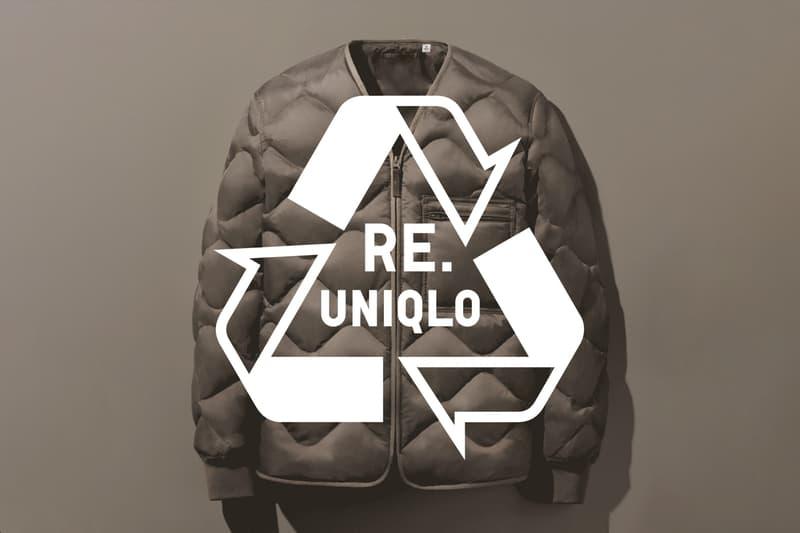 UNIQLO 正式宣佈執行全新環境友善系列「Re.UNIQLO」