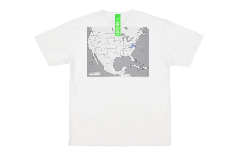 Virgil Abloh 推出「Swing State」T-Shirt 系列號召選民投票