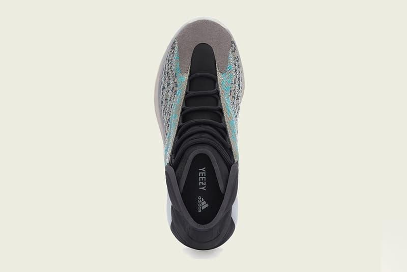 adidas + KANYE WEST YEEZY QNTM 最新配色「Teal Blue」發售情報公開