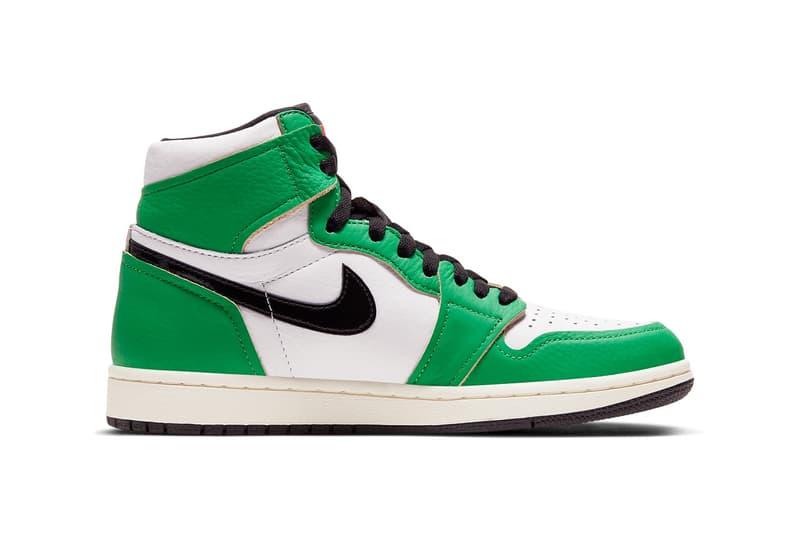 Air Jordan 1 最新配色「Lucky Green」官方圖輯、發售情報公開