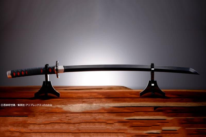 BANDAI 推出全新《鬼滅の刃》1:1 尺寸實體化「日輪刀」