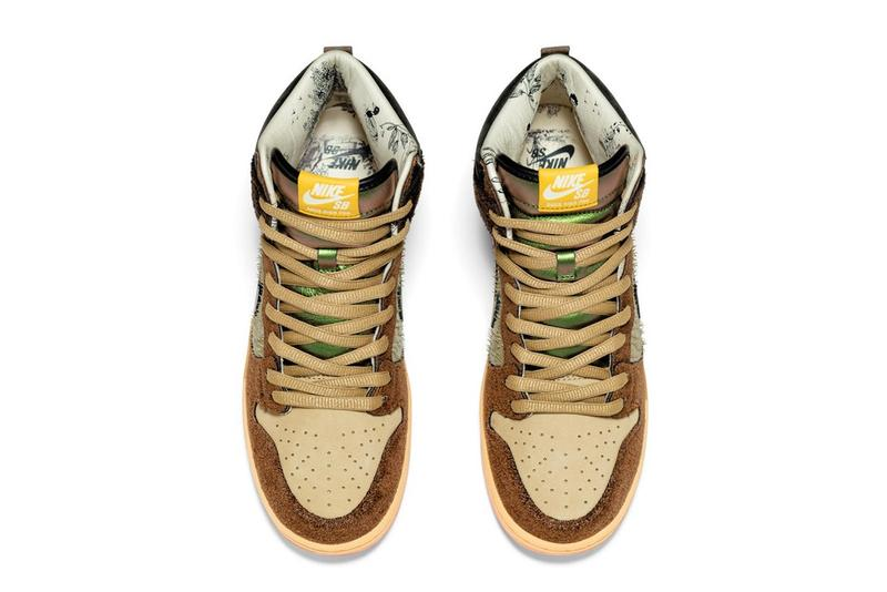 Concepts x Nike SB Dunk High 最新聯名鞋款「TurDUNKen」正式登場