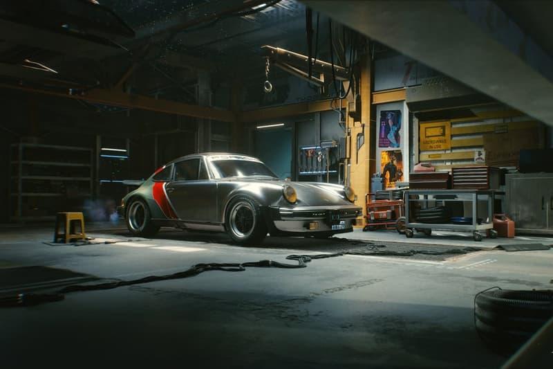 CD Projekt Red 攜手 Porsche 與 Keanu Reeves 打造《Cyberpunk 2077》主題系列車款