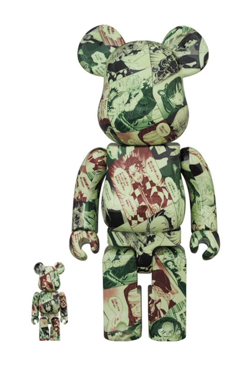 《鬼滅の刃》x Medicom Toy 全新聯乘系列 BE@RBRICK 發佈