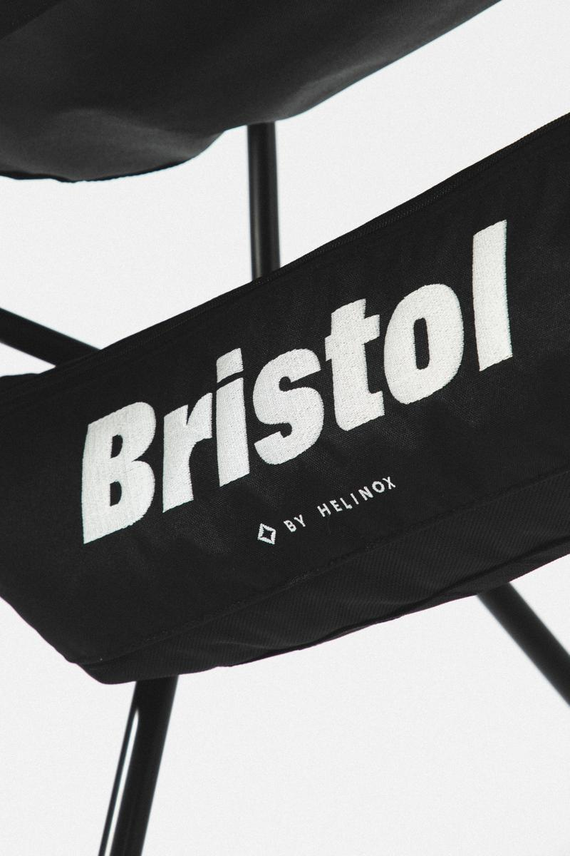 HBX 上架情報:F.C. Real Bristol x Helinox 聯乘系列