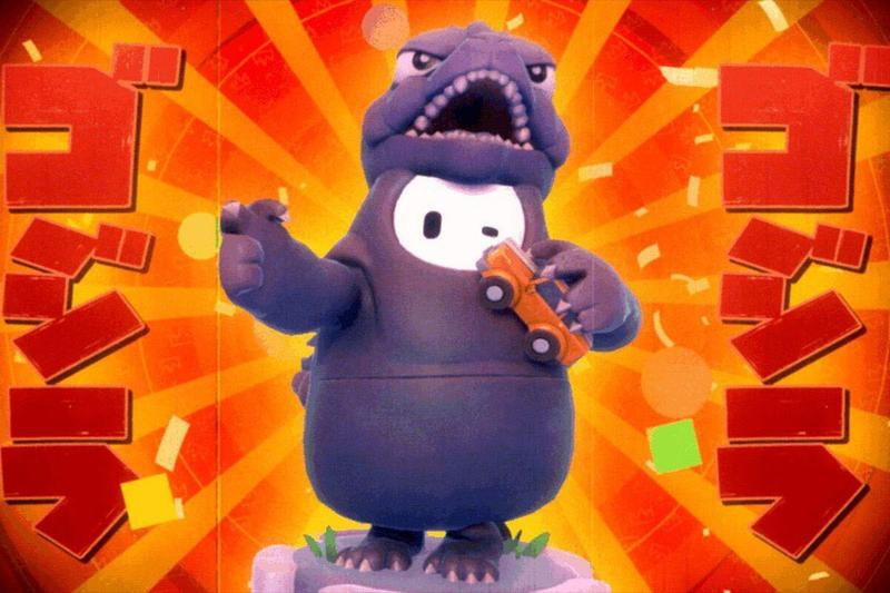 人氣遊戲《Fall Guys 糖豆人:終極淘汰賽》正式宣佈將推出全新 Godzilla 主題造型