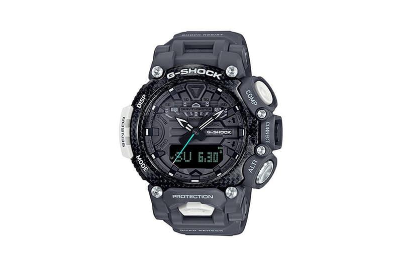 G-Shock 攜手英國皇家空軍打造 Gravitymaster 別注腕錶