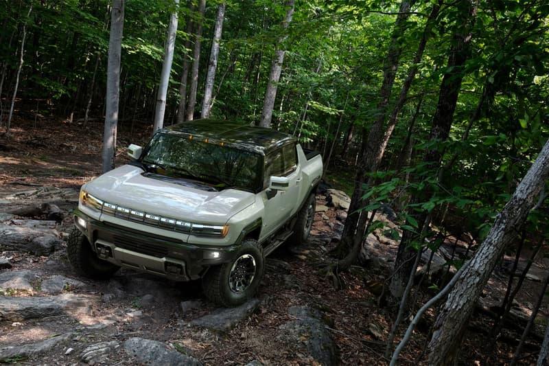 GMC 正式發表 2022 年式樣 Hummer EV 電能車款