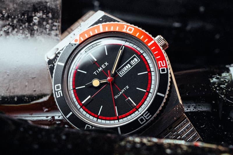 Huckberry x Timex 全新聯乘「Cola」Q Timex Reissue 聯乘錶款發佈