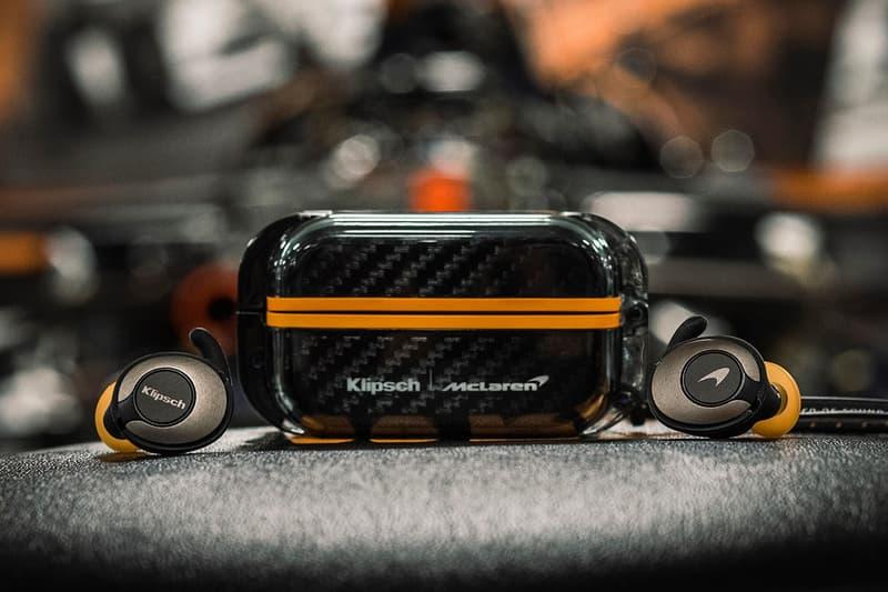 Klipsch x McLaren 全新聯乘碳纖維無線耳機發佈