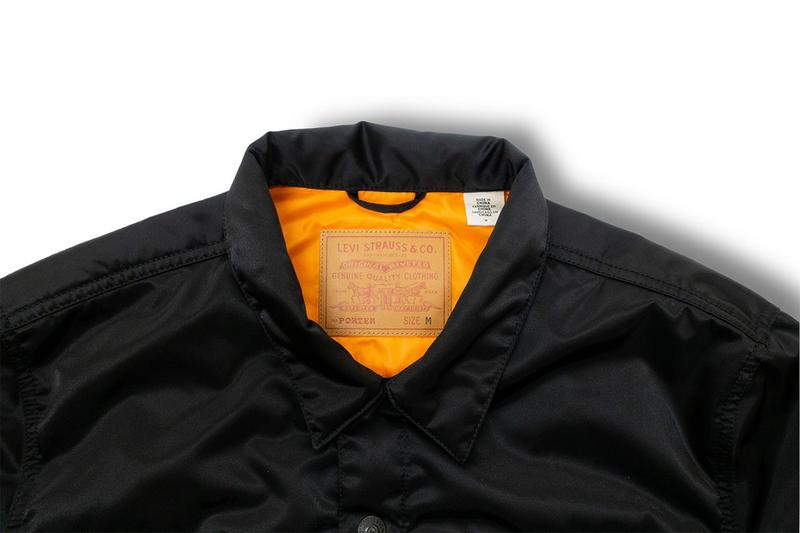 Levi's® 攜手 PORTER 打造全新 TANKER 面料 TYPE II 夾克聯乘系列