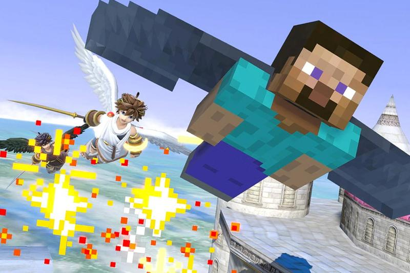 Nintendo 正式宣佈《Super Smash Bros. Ultimate》將加入《Minecraft》角色陣容