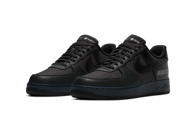 Nike Air Force 1 GORE-TEX 全新配色「Anthracite/Barely Grey/Black」正式登場
