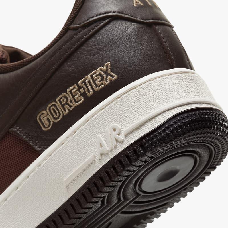 Nike 再度攜手 GORE-TEX 打造全新 Air Force 1 配色