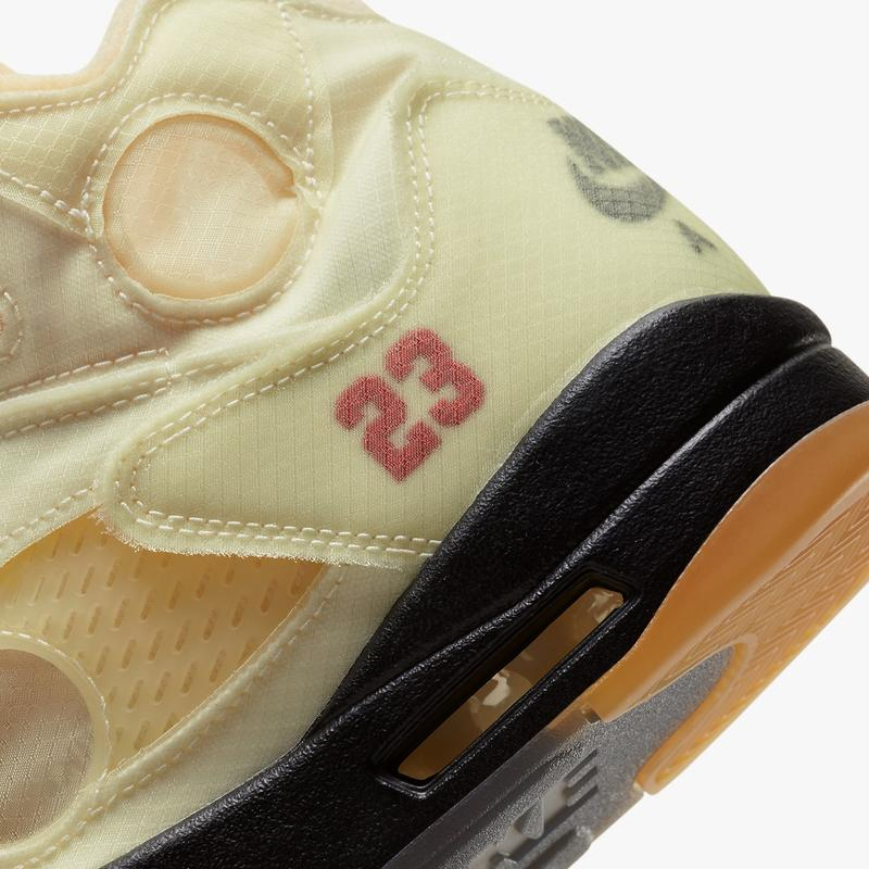 Off-White™ x Air Jordan 5 最新聯名鞋款官方圖輯、發售情報一次公開